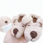 [멜로우] 니팅키트 : 강아지 신발