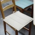 파스텔 식탁 의자 방석