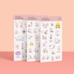 [공부일기] 꾱쀼 스티커 - Vol.2 모트모트
