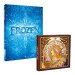 디즈니 겨울왕국 컬러링북 + 아르누보 50색 색연필