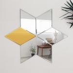 아크릴 패턴 미러/ 벽걸이 아크릴 거울/인테리어 거울