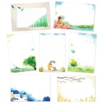 캘리그림엽서 풍경 7종(10장)