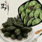 전통방식 원조 한산 모시잎 찐송편x1팩+생송편x1팩