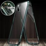 아이폰xr xs max 풀커버 카메라보호 자석 투명 케이스