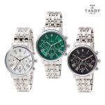 탠디  프린스 다이아몬드 메탈 시계