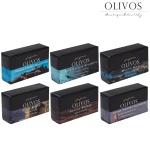 [올리보스] 천연성분 퍼퓸 올리브 비누 6종 set
