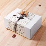 [인디고샵] 모던 화이트 선물상자-4 (2개)