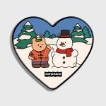 Covy and snowman(하트톡)