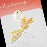 잠자리 책갈피 카드 - anniversary
