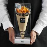 프리지아 드라이플라워 미디엄 꽃다발-기념일선물
