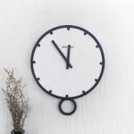 스윙 무소음 벽걸이 시계