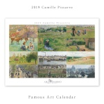 [2019 명화 캘린더] Camille Pissarro 까미유 피사로 Type A