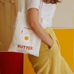 eggg butter sandwich bag 메이드파니 샌드위치에코백