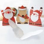 크리스마스카드/성탄절/트리/산타 크리스마스 모양 미니카드 세트 12종 set (FS512)