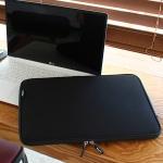 Varie 바리에 유슬림 LG그램 노트북 파우치 블랙