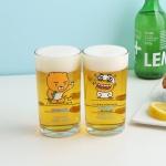 카카오프렌즈 썸머비치 호프잔/맥주잔/소주잔 등 5종