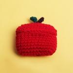 빨간 사과 에어팟 프로 니트케이스
