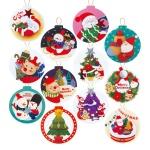 FS516 크리스마스 택 카드 (12종)크리스마스카드 카