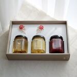 [카네이션] 천연꿀,잼,청 3종 선물세트