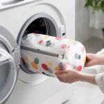 지퍼형 이불 대형 속옷 세탁망 빨래망 원형(대)