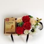 [추석선물] 카네이션 꽃상자 (정관장)(택배상품)