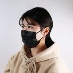 3Q FDA인증 일회용 마스크 50매입 25mic MB 3중 필터