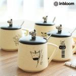 인블룸 제브라 티스푼홀더 카페머그컵