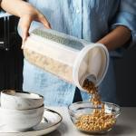 온나 쌀통 잡곡통 씨리얼통 분리보관 밀폐용기(4구)