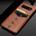 갤럭시 노트 가죽 카드수납 하드 단추 휴대폰 케이스