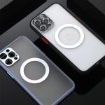 맥세이프 아이폰XR XS MAX 무선충전 반투명 폰케이스