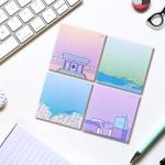 0.7M 광주여행 굿즈 디자인 메모지 시리즈