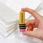 TICONDEROGA 연필모양 지우개