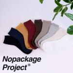NPF 여자 남자 골지 무지 면 양말 9color 중목 장목