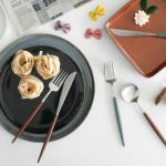 (에펠샤틴) 티스푼,티포크-2color