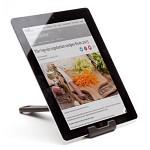 벨렉 디자인(Peleg Design) 쿡렛 태블릿 레시피 거치대 블랙