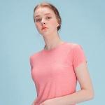 여성 스포츠 슬림핏 티셔츠 DFW5009 피치