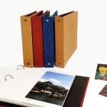 O-CHECK 패브릭 3mix 바인더 포토앨범
