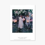 명화 포스터 갤러리 액자 013 John Singer Sargent Carnation Lily Lily Rose