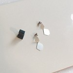 silver siena earring