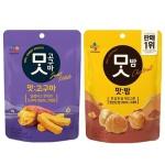 [CJ제일제당] 맛고구마 60gx5봉+맛밤 80gx5봉