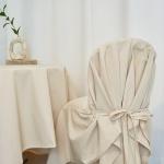 블랭크 쿠션 의자커버/광목 식탁의자커버 (RM309001)