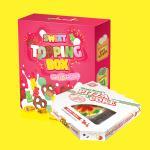 스윗토핑박스+피자콜라세트(+장미초콜릿증정)