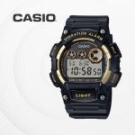 카시오 군인 군용 전자 남성 손목시계 W-735H-1A2