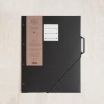 [라 페티트 페퍼티트 프랑세스]La Petite Paperterie Francaise 파리지앵 폴더 탭#2 블랙 / 인덱스파일