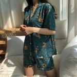 시원한 인견 잠옷 서커스 파자마