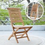 [리비니아]야외용 가로 접이식 원목의자