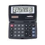 누리안 접이식 휴대용 계산기 NR-817/전자계산기/수첩형/12자리/GT계산/메모리계산/백분율/루트/수정키/'00'입력/듀얼전원