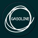 GASOLINE - 주유구스티커(NEW129)