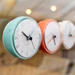 [mooas] Macaron Waterproof Clock