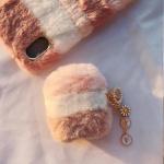 에어팟프로케이스 투톤 페이크퍼 밍크털 426 핑크_PRO